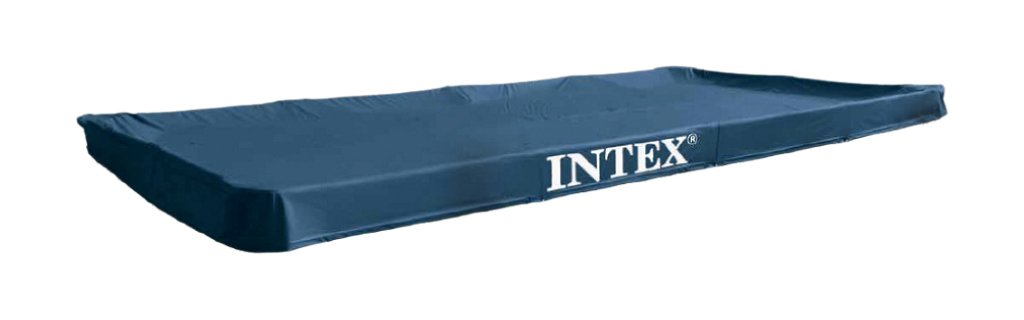 Intex 0775454 Frame Pool Cover, grün, 300 x 200 cm grün 28038