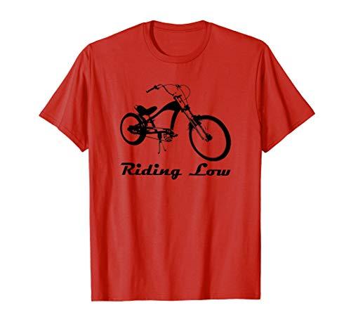 T-Shirt Lowrider Bike High-Riser Bicycle Cycling Riders
