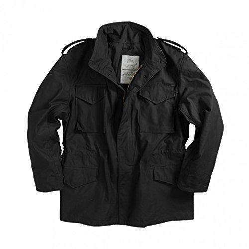 para Hombre Chaqueta black Schwarz 03 Alpha UqCYB6w
