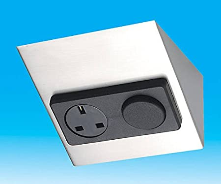 Under Worktop 13 Amp Socket & 10 Amp Light Switch (Switch is X rated ...