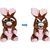 Feisty Pets Vicky Vicious Adorable Plush Stuffed Bunny That Turns Feisty with a Squeeze