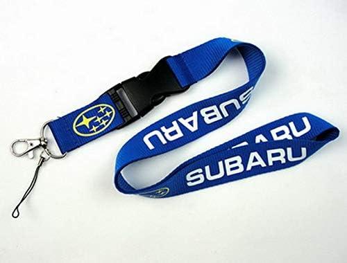 Keyring Keychains Cell Phone Cord ID Card Auto Car Logo Neck Strap Lanyard