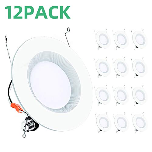 Addlon 12 Pack 5/6 Inch LED Rece...