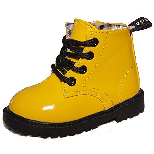 Kids Conda Yellow Rain Boots - Waterproof Boots Size 8 M US Toddler
