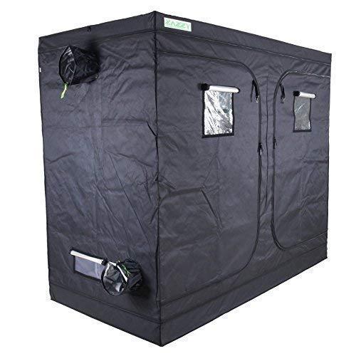 zazzy 96 X48 X78 Plant Growing Tents 600D Mylar Hydroponic Indoor Grow Tent