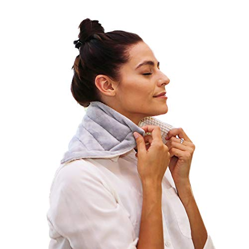 Heating Pad Solutions - Microwaveable Buddy - Muscle, Stress, Relief Hot & Cold Pack - All Natural Therapy