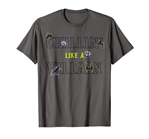 Disney Chillin Like A Villain Halloween Graphic T-Shirt