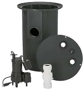 Flotec fp400c sewage ejector pump sump pumps - Sewage pump for basement bathroom ...