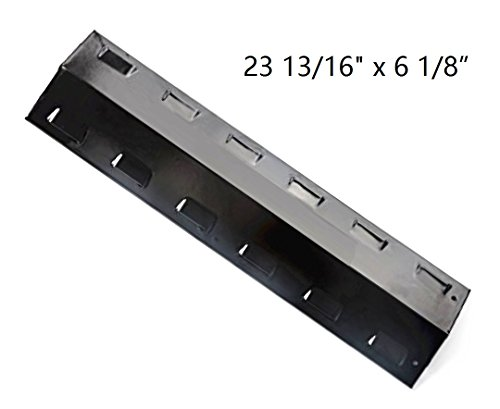 Hongso PPH401 Porcelain Steel Heat Plate, Heat Shield, Heat Tent, Burner Cover, Vaporizor Bar, and Flavorizer Bar Replacement for Select Gas Grill Models by Charbroil, Kenmore and Others ()