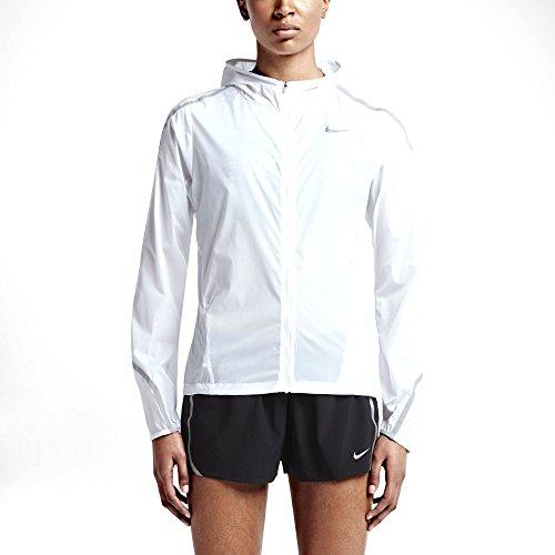 4c2cd8944583 Nike Women s Impossibly Light Running Jacket - White Light Grey-L   Amazon.co.uk  Sports   Outdoors