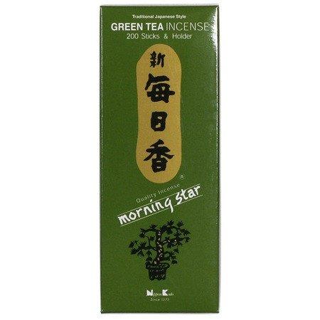 Morning Star Incense stick--200 sticks per box (Green Tea)