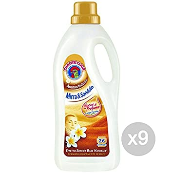 Juego 9 Chante Clair Suavizante Mirra Sand LT 2,00 Detergente ...