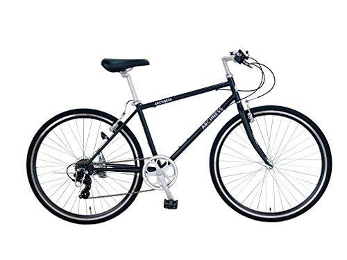 ARCHNESS 7007-A 700C クロスバイク 7段変速  ブラック B06XWPZN27