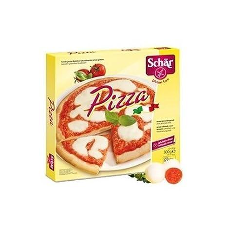 Base Pizza Sin gluten 2 unidades de Schar: Amazon.es: Salud ...