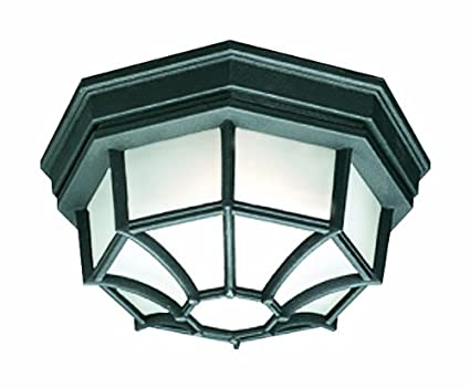 b87da00ec98 Image Unavailable. Image not available for. Color  Thomas Lighting SL7457  Outdoor Essentials Outdoor Ceiling Light ...