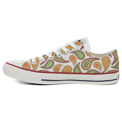 Converse All Star zapatos personalizados (Producto Artesano) Quirky Paisley