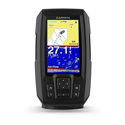 Speed Depth System - Garmin Striker Plus 4 with Dual-Beam transducer, 010-01870-00