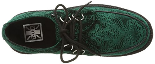 Creeper Women's Viva k Velvet u Emerald Green Shoes T 6qwURU