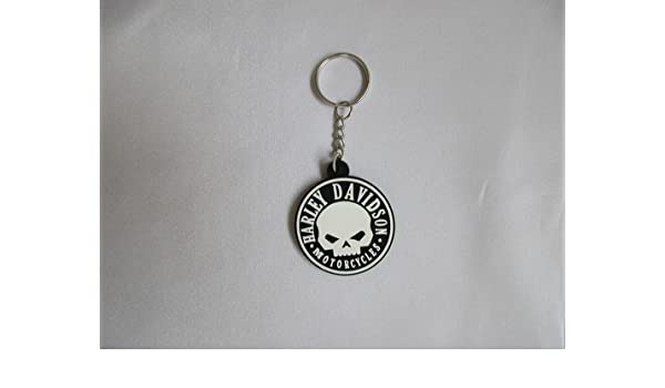 De Harley Davidson llavero Calavera Skull Logo de Silicon ...