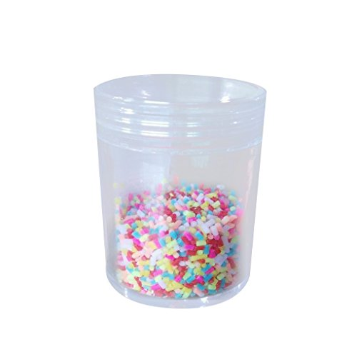 Ice Sculpture Cream (Cake Decoration Simulation Colorful Chocolate Sprinkles Sugar Needle DIY Ice Cream Decoration Bobury)