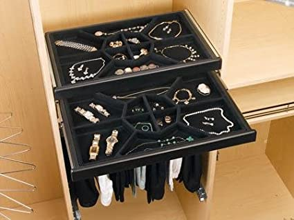 Rev A Shelf Jewelry Drawer Insert In Wide X In Deep