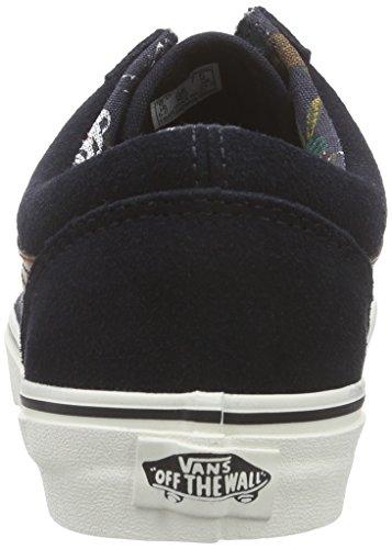 b74e134fe1 Vans Old Skool (Desert Tribe) suede blue graphite Men s Shoes VN0003Z6HSO  (11