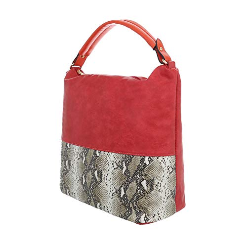 Design Ital hombro Multi para al de Bolso Rot Sintético mujer 41wqvP