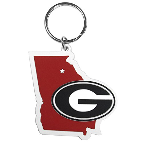Siskiyou NCAA Georgia Bulldogs Home State Flexi Key Chain