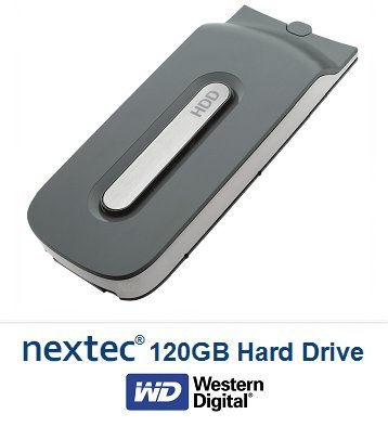 New - Xbox 360 FAT (120 GB) Hard Disk Drive HDD for Microsoft Xbox 360 Console (FAT Console Only/ Not Slim)