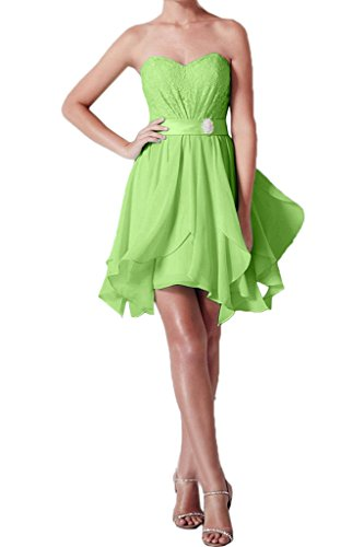 Missdressy - Robe - Plissée - Femme -  vert - 34