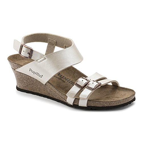 Papillio Womens Ellen Synthetic Sandals Pearl White Pwgair