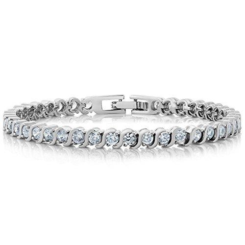 flat gem bracelet - 7