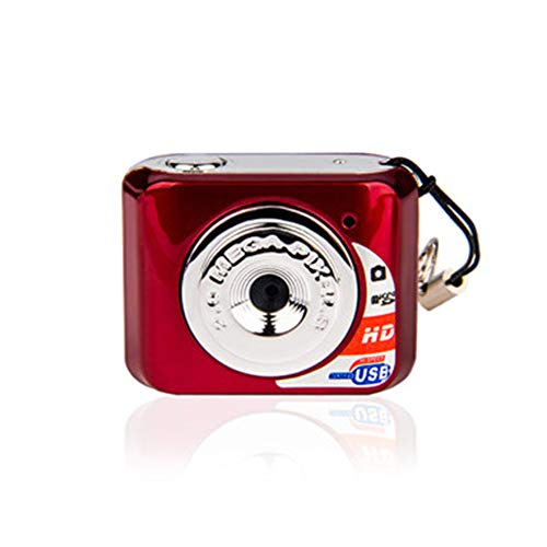 Powerfulline Digital Cameras Portable HD 1280x720 USB Charge Photography Video Recorder Mini Camera Gift ()
