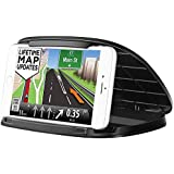 Car Phone Holder,Dashboard Phone Holder for GPS,Silicone Cell Phone Car Mount Cradles for iPhone X XS Max 8 8 Plus 7 Samsung Galaxy Note 9 S9 S9 Plus S8 S7,Google and 3-6.8 Inch Mobile Phone or GPS