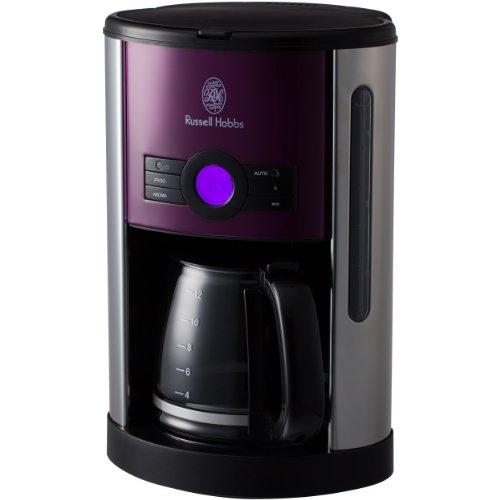 Russell Hobbs Heritage coffee maker 18499JP (purple)【Japan Domestic genuine products】 Review