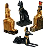 YTC SUMMIT 5114 Egyptian Statues - Set of 4 - C-36