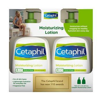 Cetaphil Moisturizing Lotion - 2/20oz Pumps