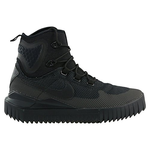 Nike Mens Air Wild Mid Boots Black/Black-Anthracite 916819-001 Size 12 by NIKE
