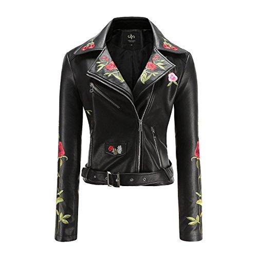 Leather Motorcyle Jacket - 8