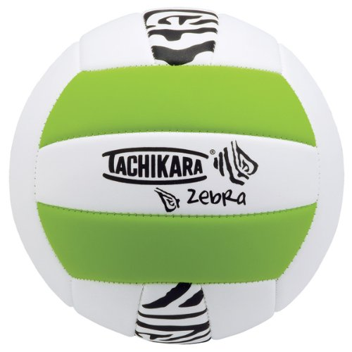 Tachikara Soft-Tech Zebra VolleyBall, Zebra