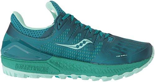 Femmes 35 W Iso De Course Acqua 3 Chaussures Xodus Multicolore vert Pour Saucony RxT7qw8HH
