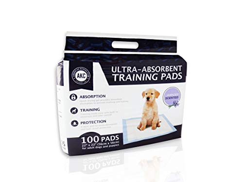 American Kennel Club Lavender Scented Training Pads (Pack of 100)