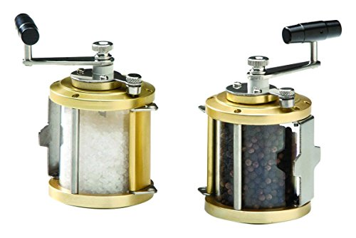 Galleyware Ocean Reel Salt & Pepper Mills