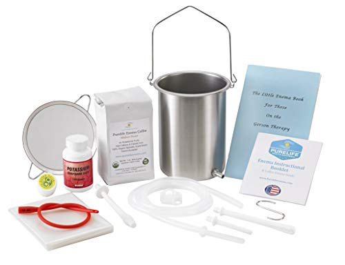 Enema Kits by Purelife -Dream Coffee Enema Kit for Gerson Therapy – Made in USA
