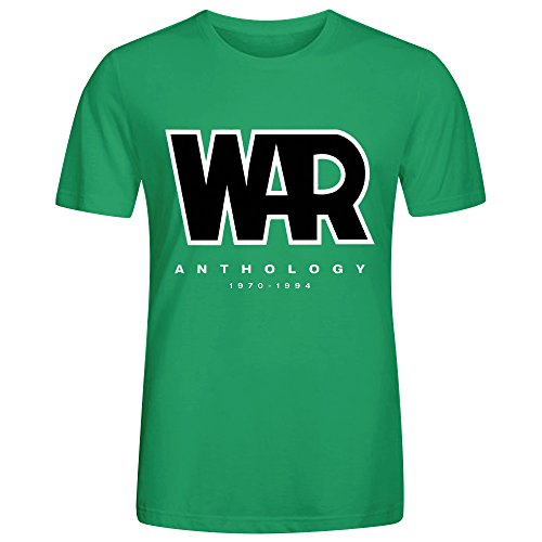 War Anthology 1970 1994 Cool Mens T-Shirt Green