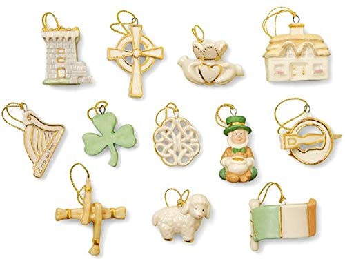 (Lenox Set of 12 Ornaments for Ornament Tree (Tree Not Included) St. Patrick's)