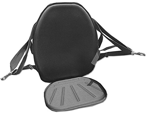 Extra High Back Kayak Seat With Storage And Removable Cushion. Lift Your Kayak Seat Higher with ()