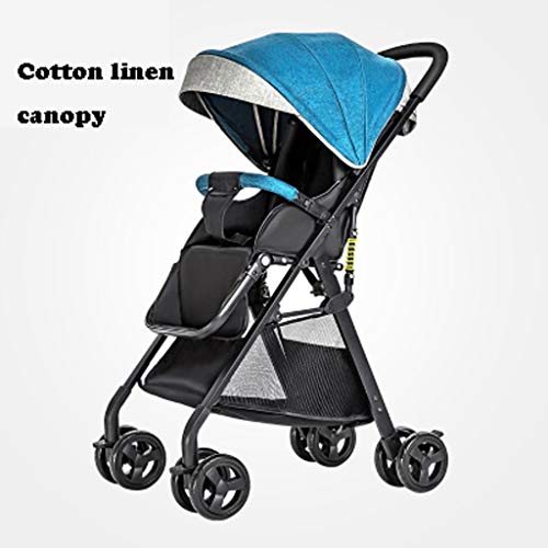 TXTC Baby Carriage for Newborn and Toddler,Convertible Stroller Compact Single Baby Carriage Seat Stroller,Storage…