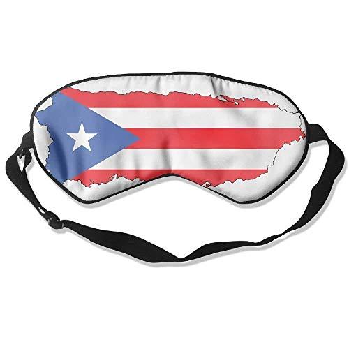 Puerto Rico 99% Eyeshade Blinders Sleeping Eye Patch Eye Mask Blindfold for Travel Insomnia Meditation