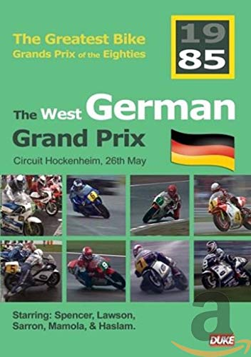 The West German Grand Prix 1985 [Reino Unido] [DVD ...